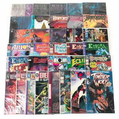 """Group of DC comics, Including """"Enemy Ace"""" and """"Black Orchid"""""""