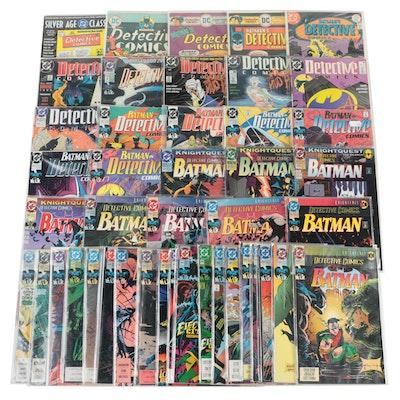 "Vintage and Modern ""Batman Detective Comics"""