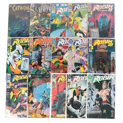 """Catwoman"" and ""Robin"" Comics"