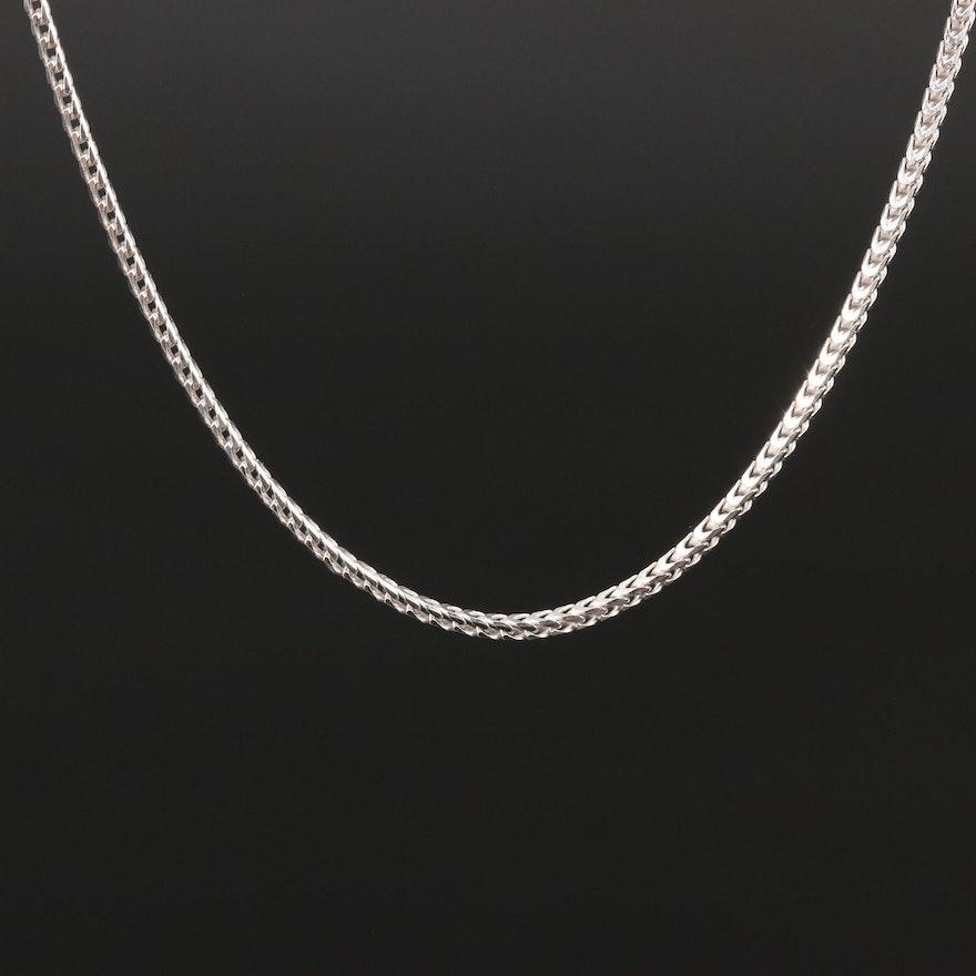 Sterling Fancy Link Chain