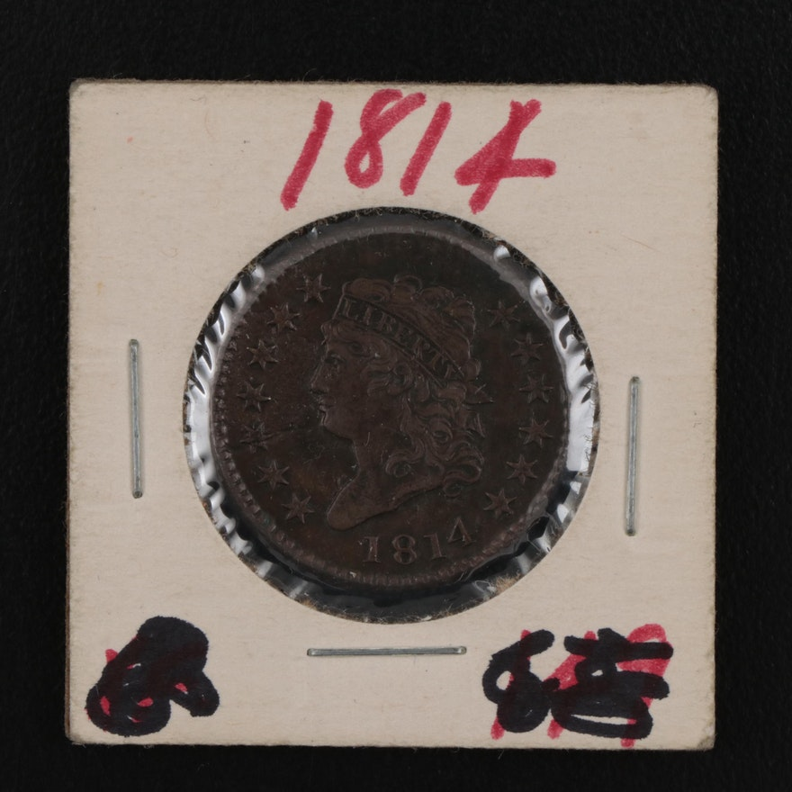 1814 Classic Head Large Cent