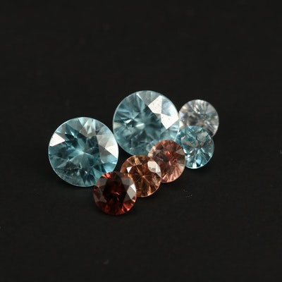 Loose 4.54 CTW Round Faceted Zircon