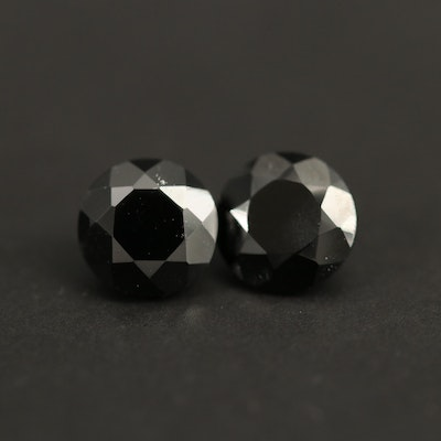 Loose 2.05 CTW Round Faceted Spinels