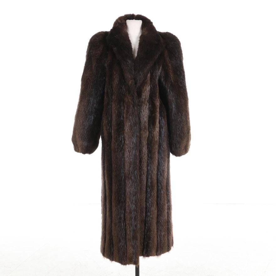 Beaver Fur Full-Length Coat from Thomas E. McElroy of Chicago