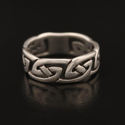 Sterling Celtic Style Ring