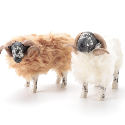 Colin's Creatures Scotland Black Face Sheep Figurines