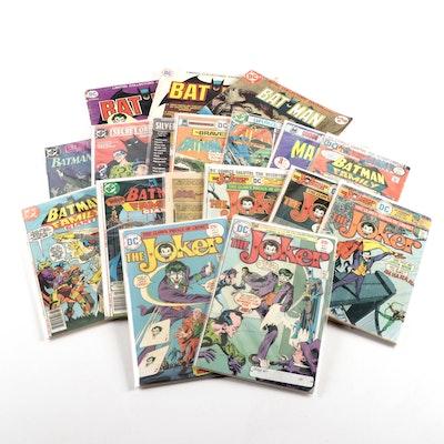 "Vintage ""The Joker"" and ""Batman"" Comics"