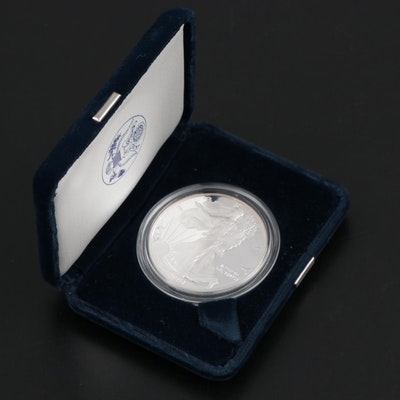 2004-W American Silver Eagle $1 Proof Bullion Coin