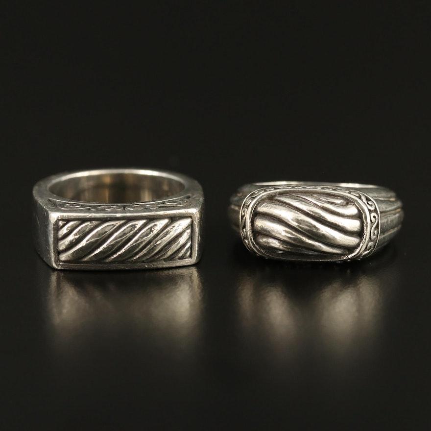 Brighton Sterling Silver Rings