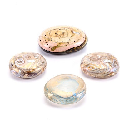 Gozo Glass Maltese Art Glass Paperweights