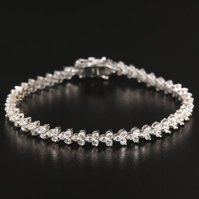 14K 3.90 CTW Diamond Bracelet