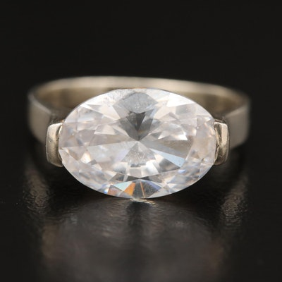 Silver Sterling Cubic Zirconia Ring