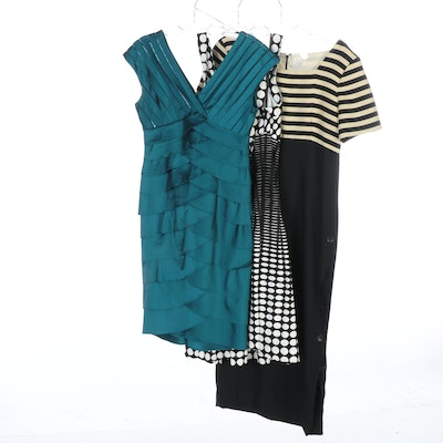 Adrianna Papell, Calvin Klein and Liz Claiborne Casual and Cocktail Dresses
