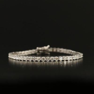 14K 5.01 CTW Diamond Line Bracelet