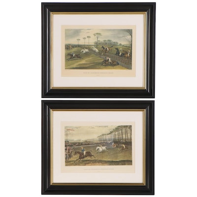"Reproduction Prints after Francis Turner ""Vale of Aylesbury Steeple Chase"""