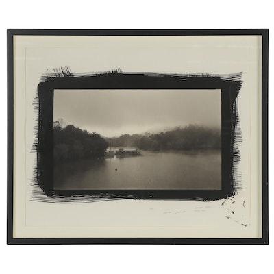 "Dick Arentz Silver Gelatin Photograph ""Red Oak Creek, Ripley, Ohio,"" 1989"