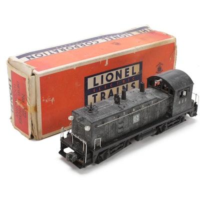 Lionel O Scale 622 Santa Fe Diesel Switcher, Mid-20th Century