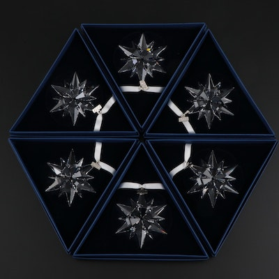 Limited Edition Swarovski Crystal Annual Snowflake Ornaments, 2017