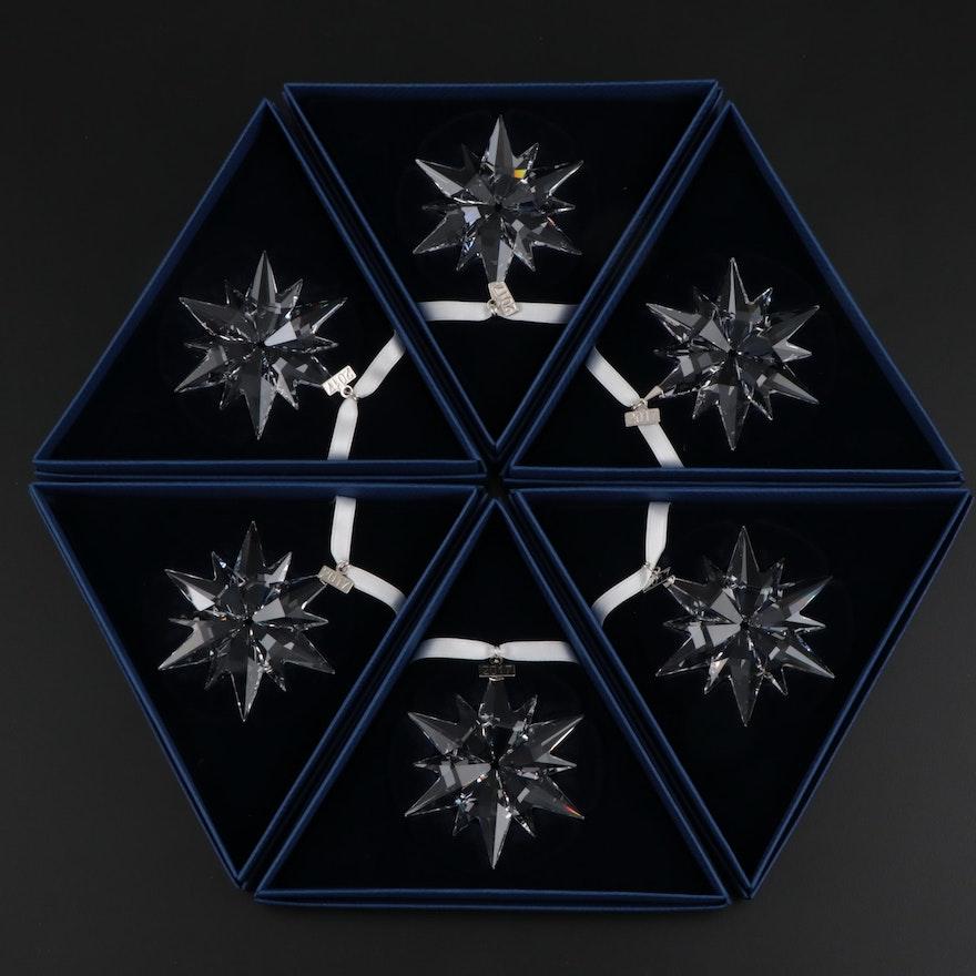 Limited Edition Swarovski Crystal Annual Snowflake Ornaments, 2017