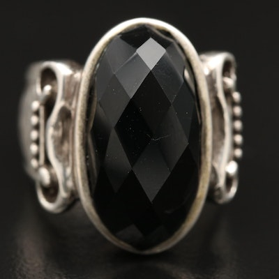 Sterling Black Onyx Ring