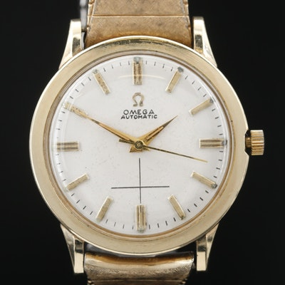 1961 Omega Seamaster Gold Filled Automatic Wristwatch