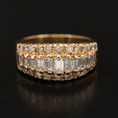 14K 1.48 CTW Diamond Ring