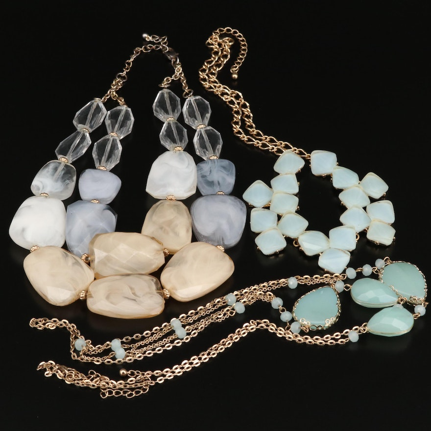 Necklaces Including Multi Strand Beaded Necklace