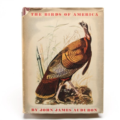 "Fifth Printing ""The Birds of America"" by John James Audubon, 1946"
