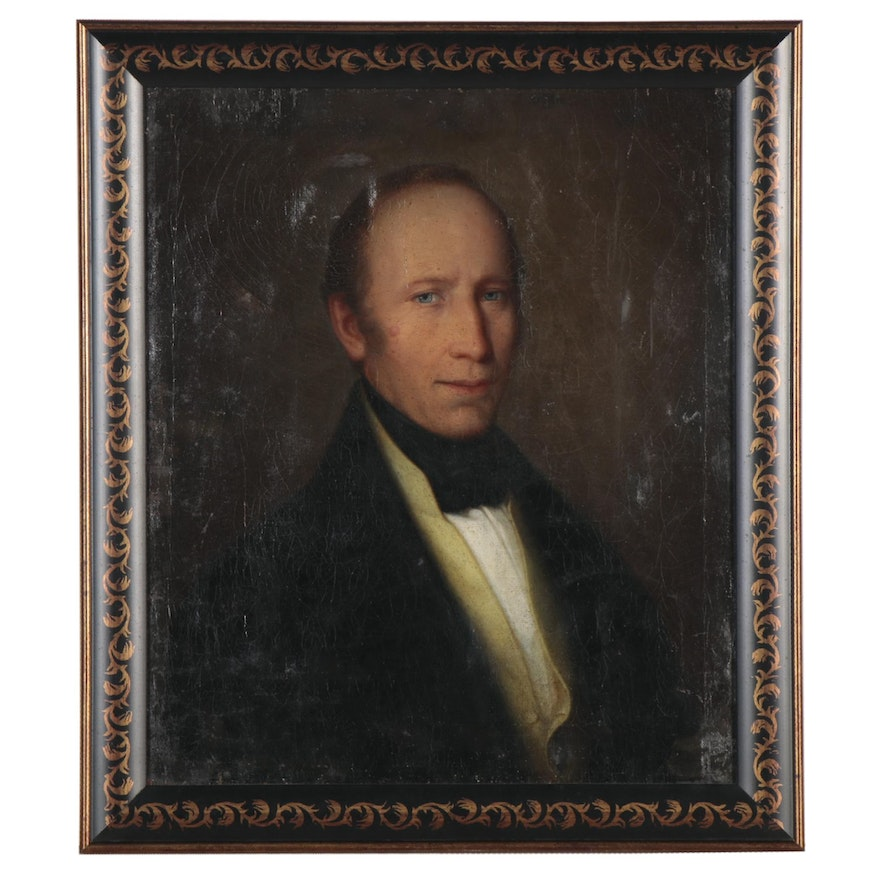 Portrait Oil Painting of Distinguished Gentleman