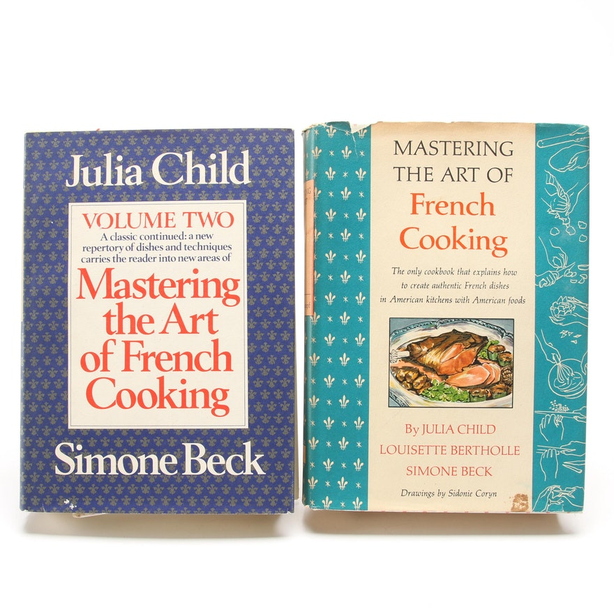 """Mastering the Art of French Cooking"" Volumes I and II by Julia Child et al."