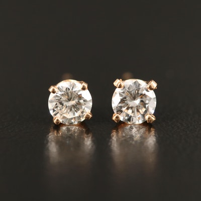 14K 0.77 CTW Diamond Stud Earrings