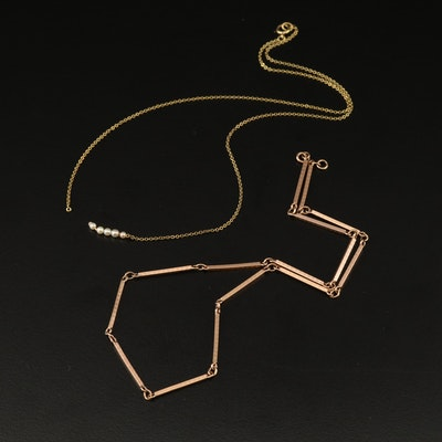 14K Necklace and 10K Chain for Scrap