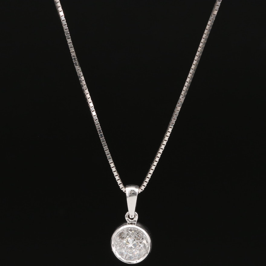 EFFY 14K Diamond Pendant Necklace