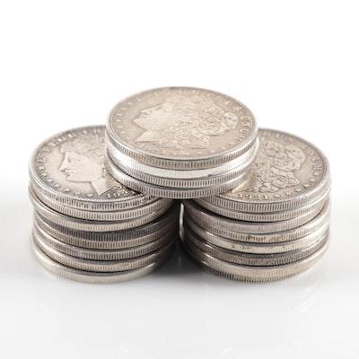 Twenty 1921 Morgan Silver Dollars