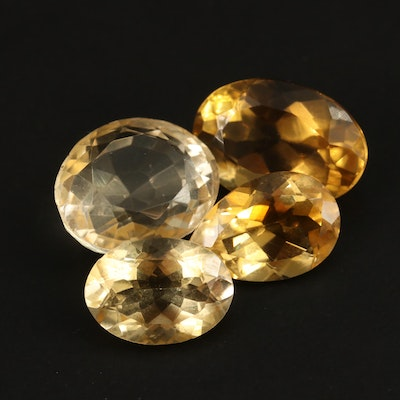 Loose 32.96 CTW Faceted Citrines