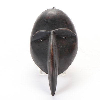 "Dan Style ""Gagon"" Carved Wood Mask, West Africa"