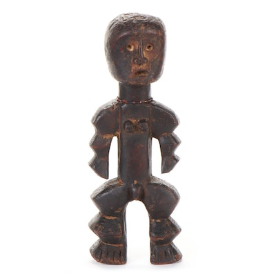 Central African Carved Wood Figure