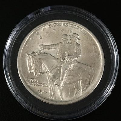 1925 Stone Mountain Memorial Silver Half Dollar