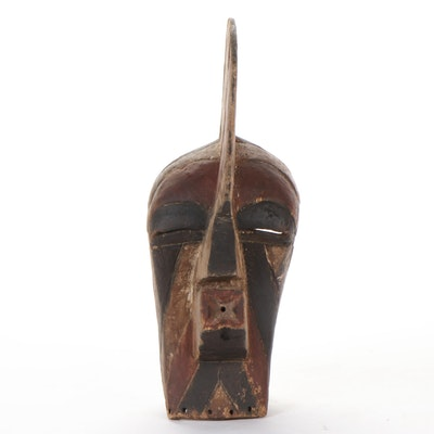 Songye Kifwebe Carved Wood Mask, Democratic Republic of the Congo