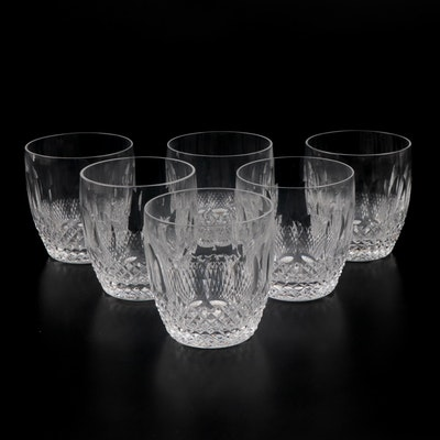 "Waterford Crystal ""Colleen Short Stem"" Old Fashioned Glasses"