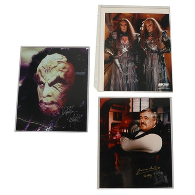 Star Trek Autographed Photographs of James Doohan and More