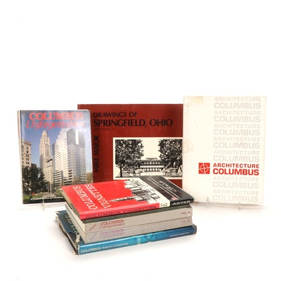 "Signed ""Columbus Vignettes"" by Bill Arte and More Illustrated Books on Columbus"