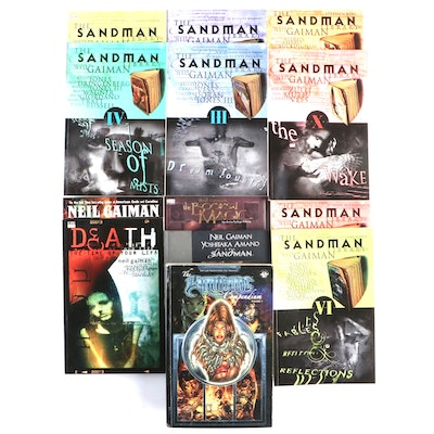 """Sandman,"" ""Witchblade,"" and ""The Books of Magic"" Comics and Graphic Novels"