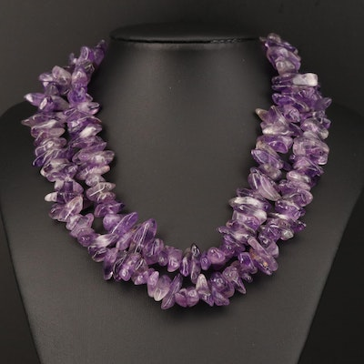 Amethyst Endless Necklace