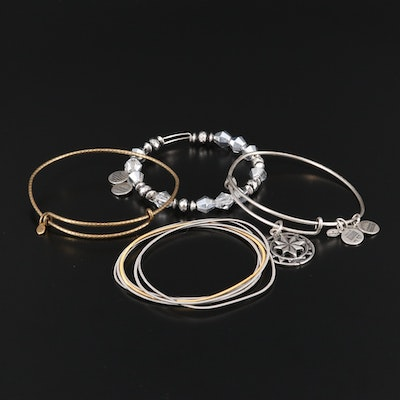 Alex and Ani Bracelet Selection