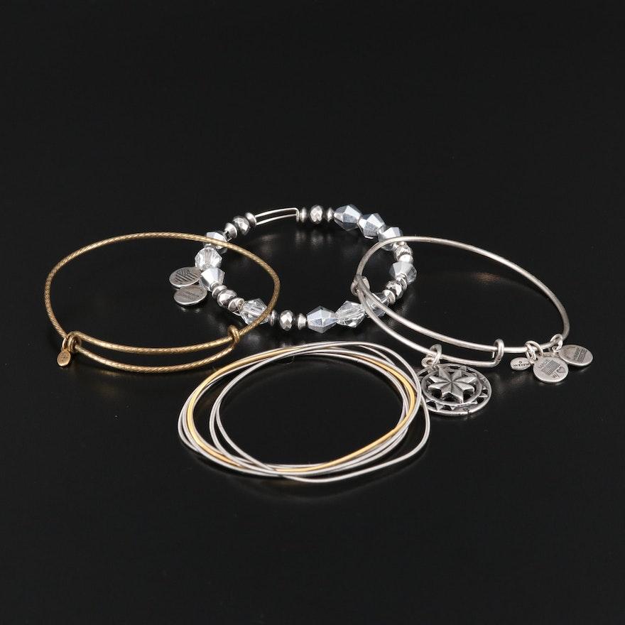 Alex and Ani Bracelet Selection