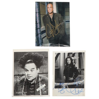 Babylon 5 Autographed Cast Photographs