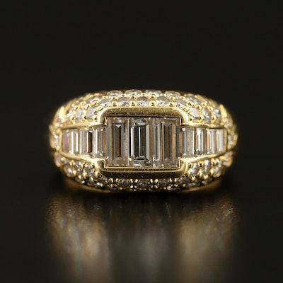 18K 2.38 CTW Diamond Ring