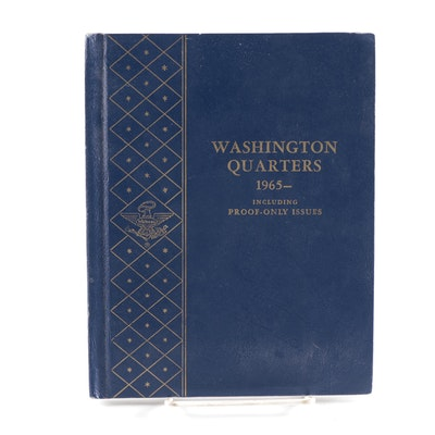 Whitman Binder of Washington Quarters, 1965 to 1980