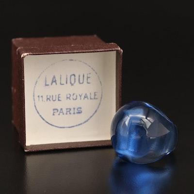 Lalique Cabochon Ring